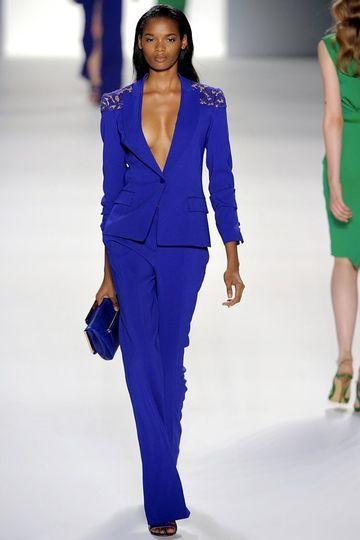7a3812e7da5 Elie Saab bei der Paris Fashion Week 2012