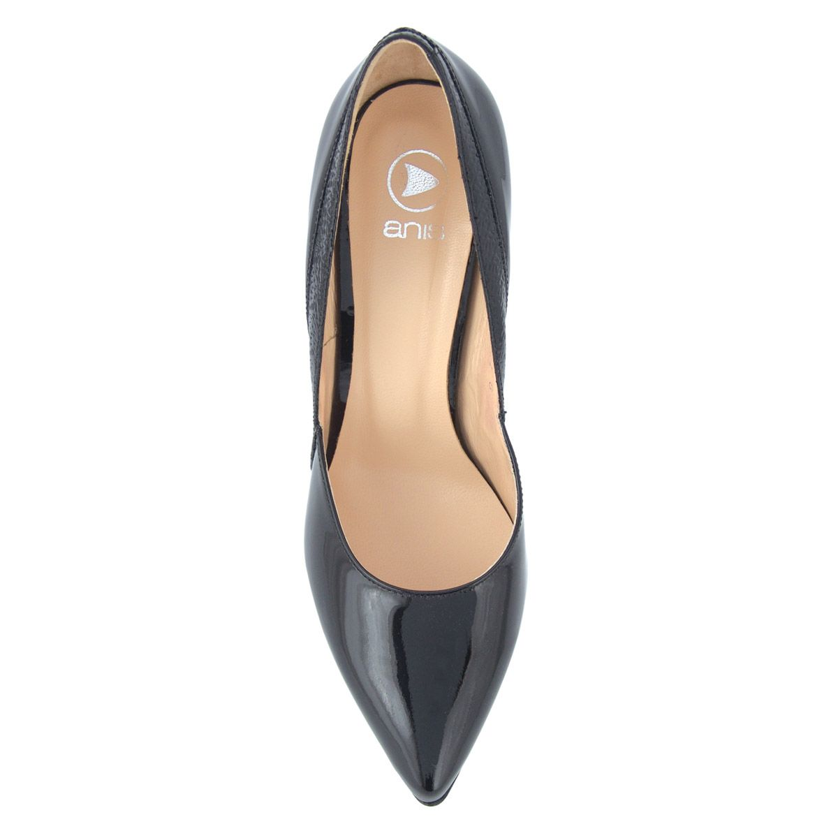 Anis alkalmi cipő - Lakk magas sarkú női cipő  c9fe0afb6a