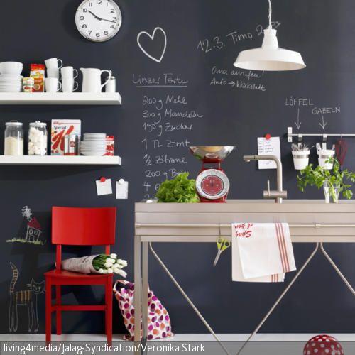 tafelwand f r eine kreative k che pinterest abwechslung hinzuf gen und nerven. Black Bedroom Furniture Sets. Home Design Ideas