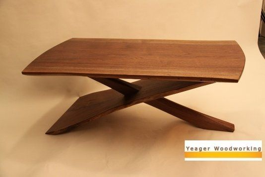 Custom Made Cantilever Coffee Table Table Project Ideas Pinterest Tables Coffee And