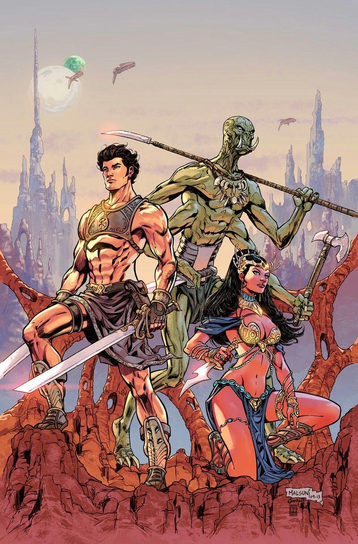 Neeraj Menon - John Carter-Warlord of Mars