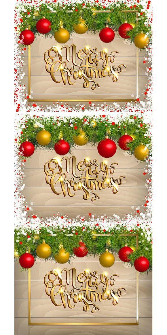 3 Christmas greeting card. Calendar Templates. $7.00 ...
