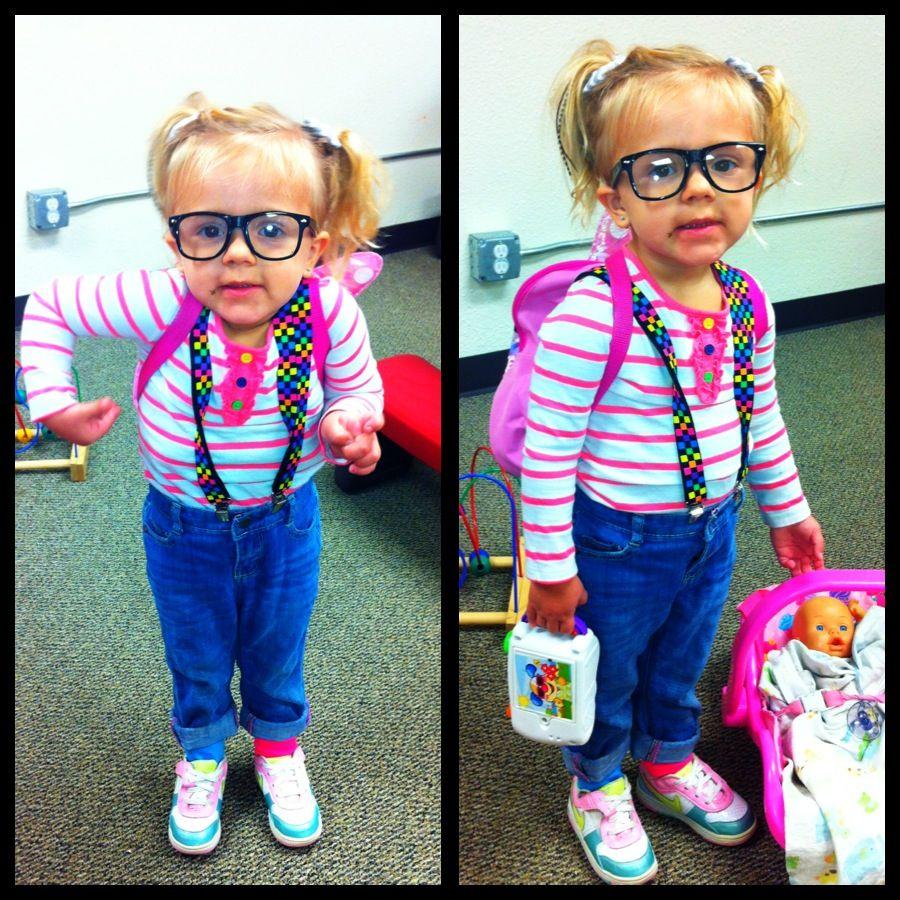 Nerd costume toddler Toddler costumes girl, Nerd costume