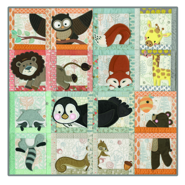 Love this machine embroidered baby quilt - anitagoodesign.com ... : baby quilts to embroider - Adamdwight.com