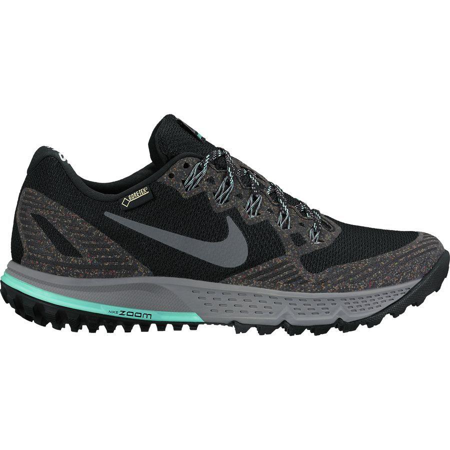 Nike Air Zoom Wildhorse 3 Gtx Trail Running Shoe Women S Black Hyper Best Running Shoes Trail Shoes Women Trail Running Shoes