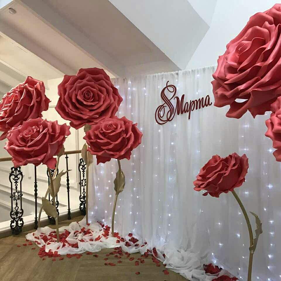 Flower Decorations: Find The Rose Petals To Decorate Your Backdrop With At Www