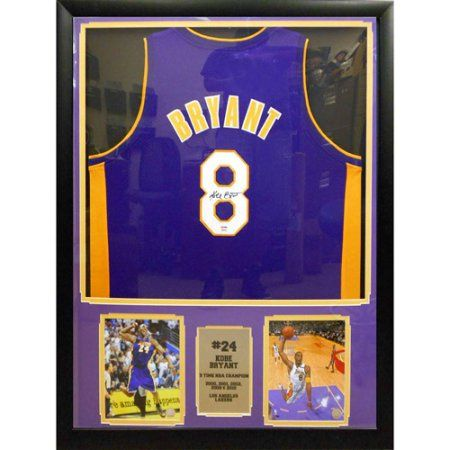 best website 33600 fcb16 NBA 30 inch x 34 inch Autographed Jersey Frame, Kobe Bryant ...