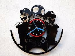 Resultado de imagen para relojes en discos de vinilo
