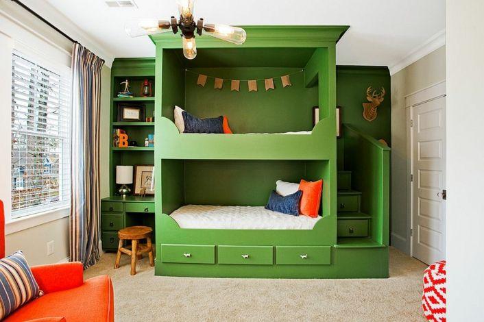 Decoración de cuartos para niños con bombillas Edison