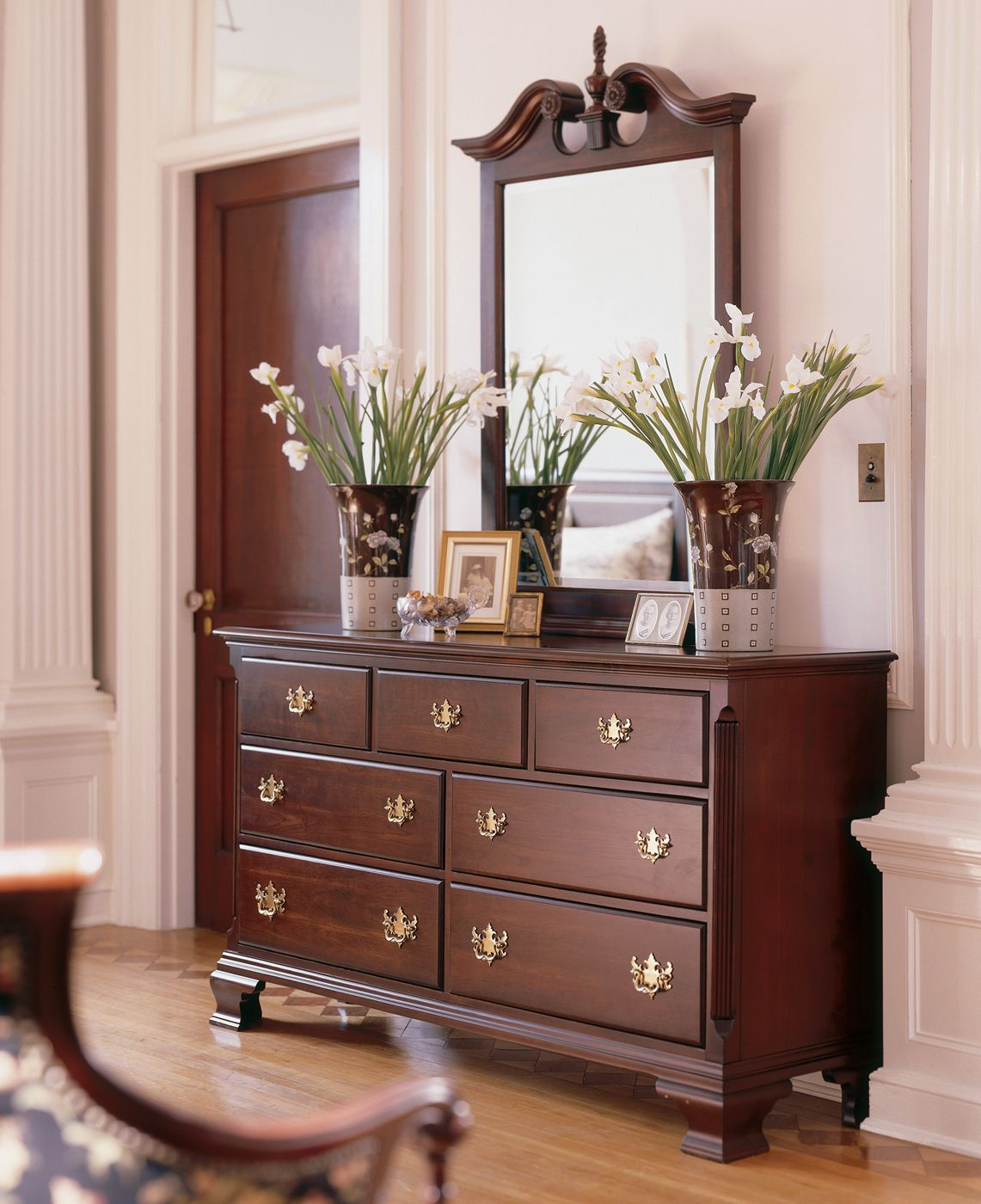 Shop kincaid furniture 60 110 carriage house double dresser at atg stores browse our dressers for Thomas kincaid bedroom furniture