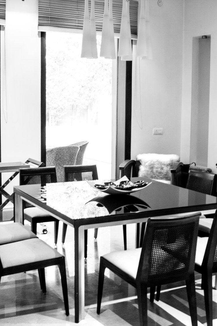 Modern Serenity. sleek and stylish modern dining table ...