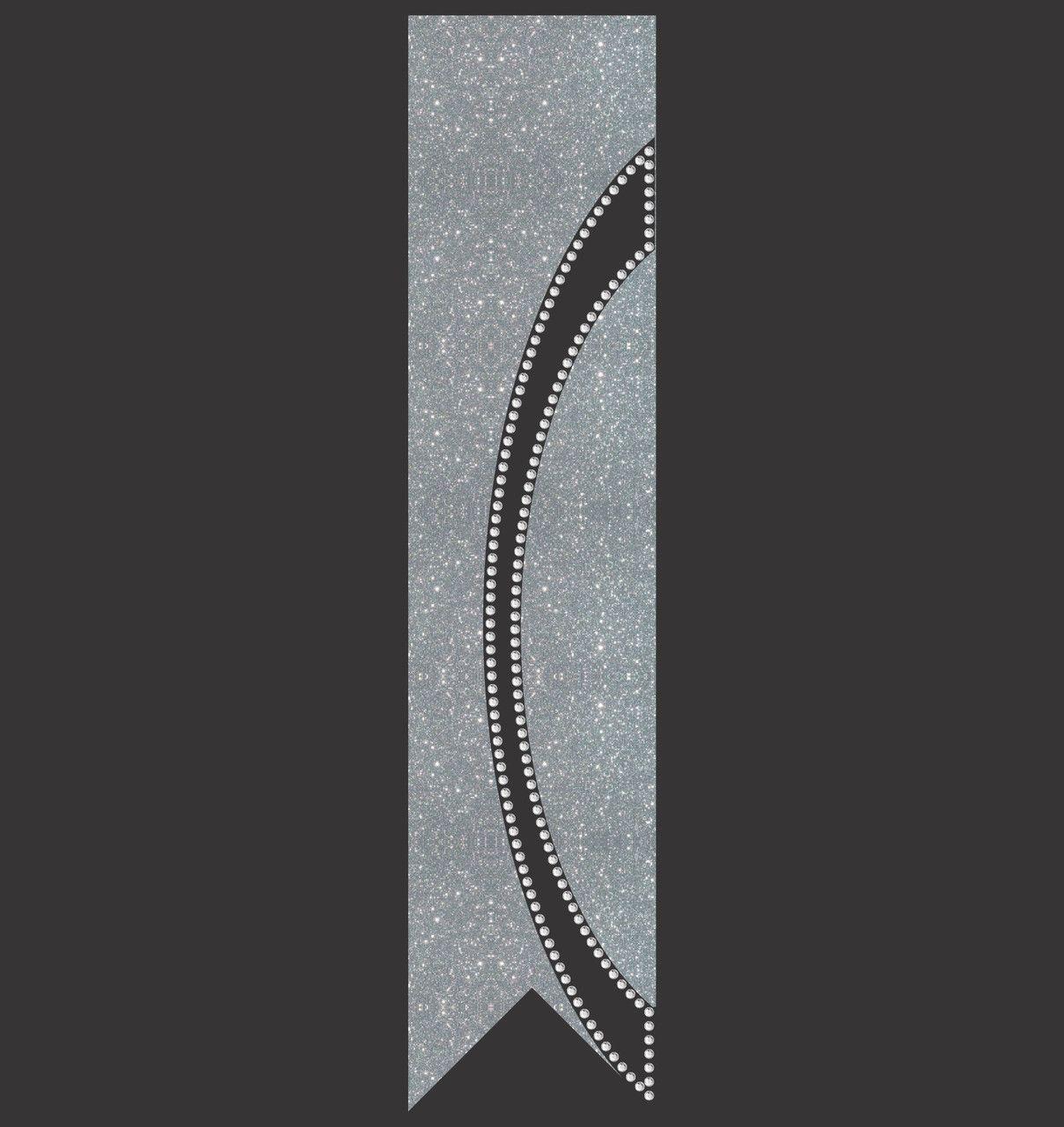 Kick Swish Vinyl Rhinestone Cheer Bow File Template Instant File Download