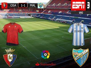 Liga Santander 2016/17 20º Fecha: Osasuna 1-1 Malaga
