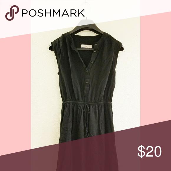 Black Loft Dress Black loft dress. Size small, hits above the knee. Excellent condition. LOFT Dresses