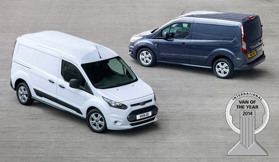 New Ford Transit Connect Wins International Van Of The Year 2014
