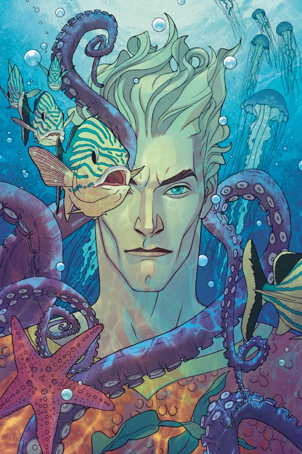 Oniric Realms — dangerouslycoolcomics:   Aquaman 1 by Joshua...