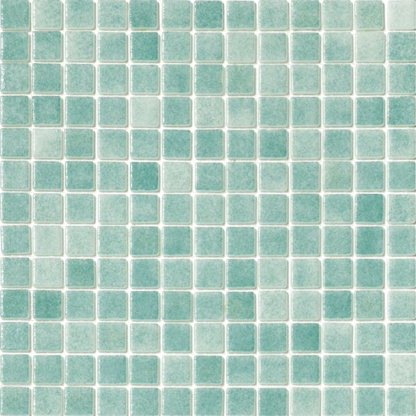 Mineral Tiles Recycled Glass Tile Fog Caribbean Green 0 00