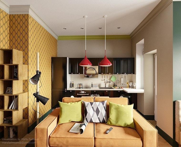 Apartments Designs für funktionale kleine Räume Dekoration - wohnzimmer ideen für kleine räume