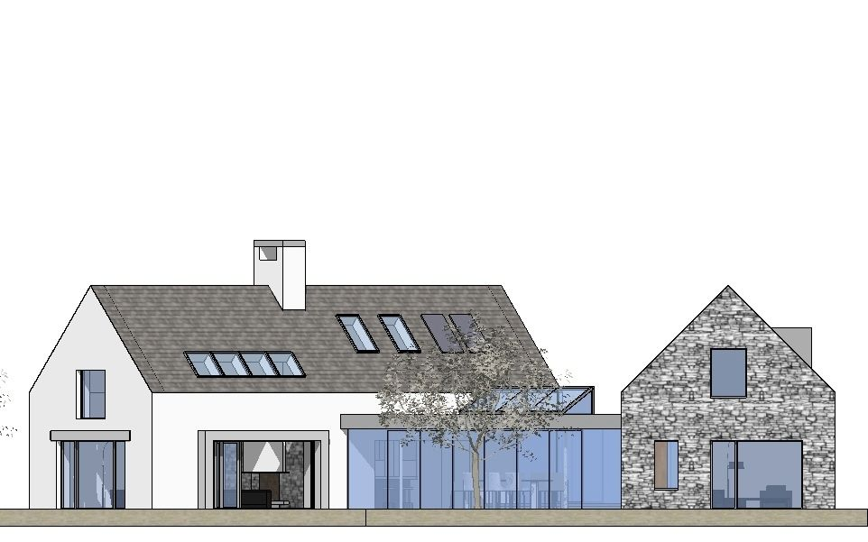 4 Bed Contemporary Vernacular Cottage House Plans House Exterior House Styles
