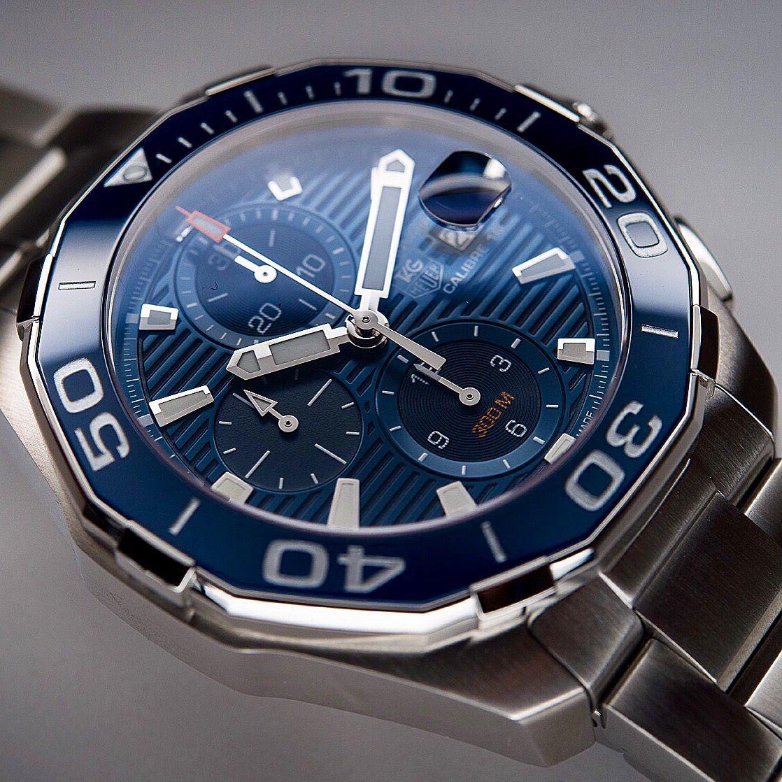 Tag Heuer Aquaracer Calibre 16 | Watches | Pinterest | Tag ...