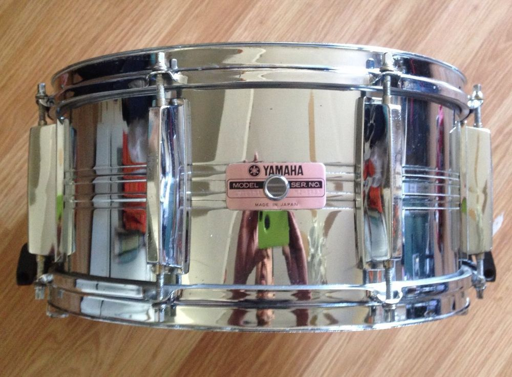 6.5 X 14 Yamaha SD765MA Shell Snare Drum Vintage 80\'s