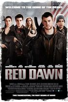 """Poster art for """"Red Dawn."""""""