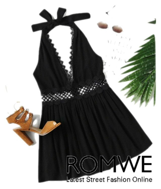 """""""Romwe"""" by kafas-1 ❤ liked on Polyvore"""