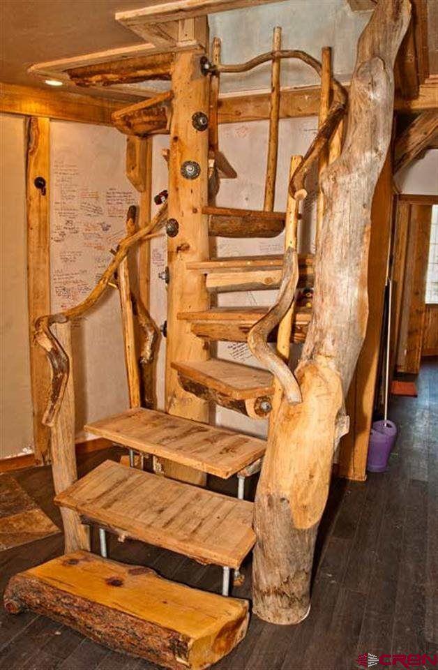 Natural log spiral Staircase