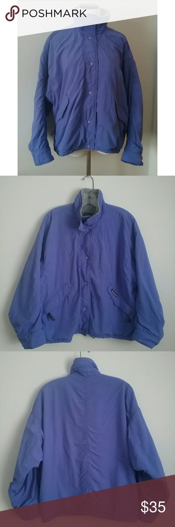 Patagonia jacket nylon sz medium retro s patagonia flaws and cord
