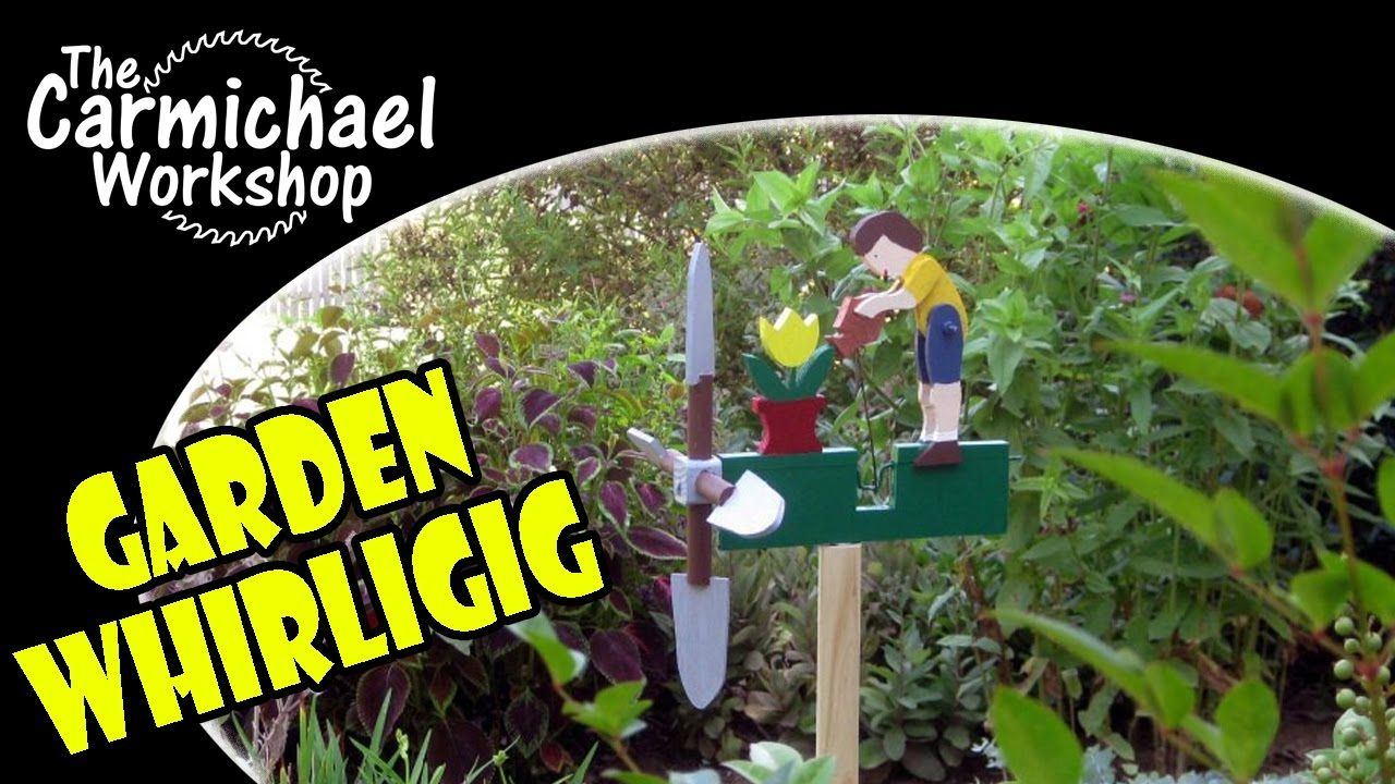 How To Make A Whirligig For Your Garden   Easy DIY Weekend Outdoor Project