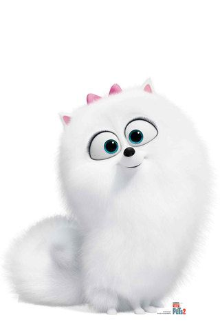 Snowball From The Secret Life Of Pets 2 Cardboard Cutout Standup In 2020 Cute Cartoon Wallpapers Secret Life Of Pets Cute Disney Wallpaper