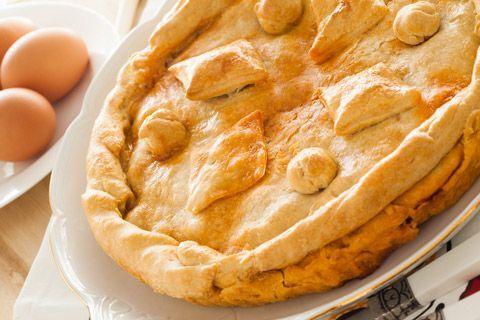 Great Memere Rousseau's Tourtiere (Meat Pie) Recipe Yankee