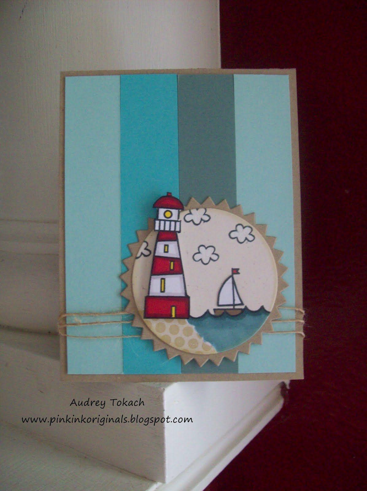 A very cute summer card. Paper Smooches