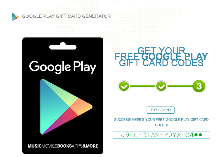 Google Play Gift Card Generator Cards Plays Free Gifts