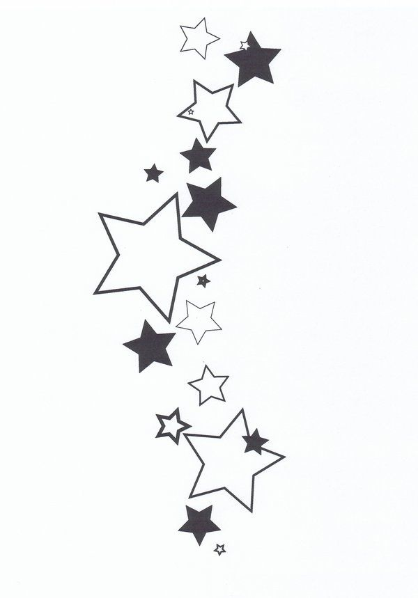 star clusters tattoo-#4