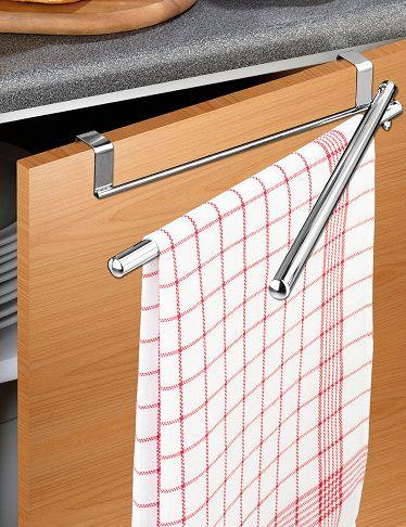 Handtuchhalter für Schranktüren mit Schwenkarmen ...