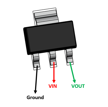 HT7333 Pinout Electronic circuit projects, Electronics
