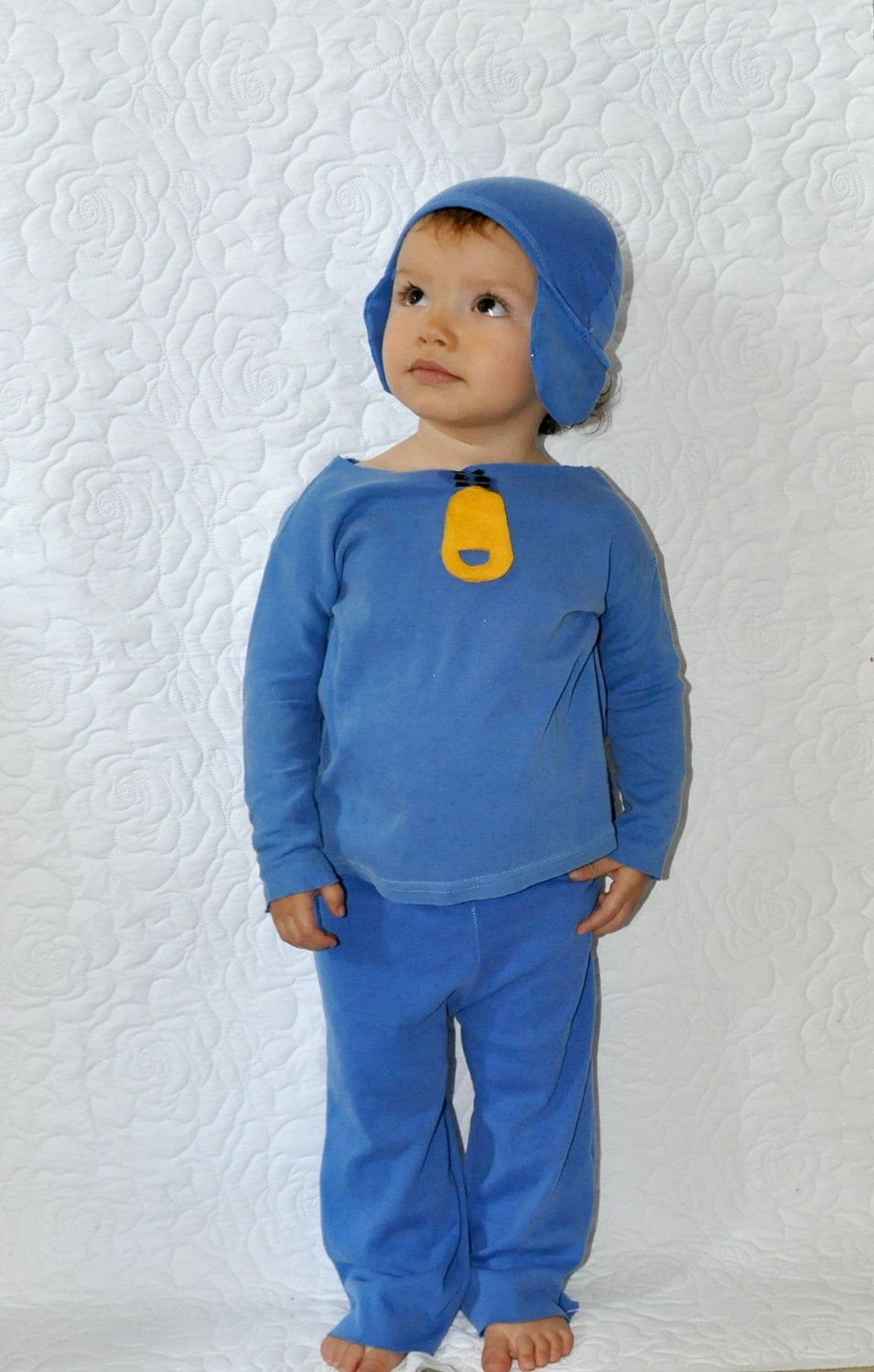Pocoyo inspired costume boys babies kid toddlers infants childs ...