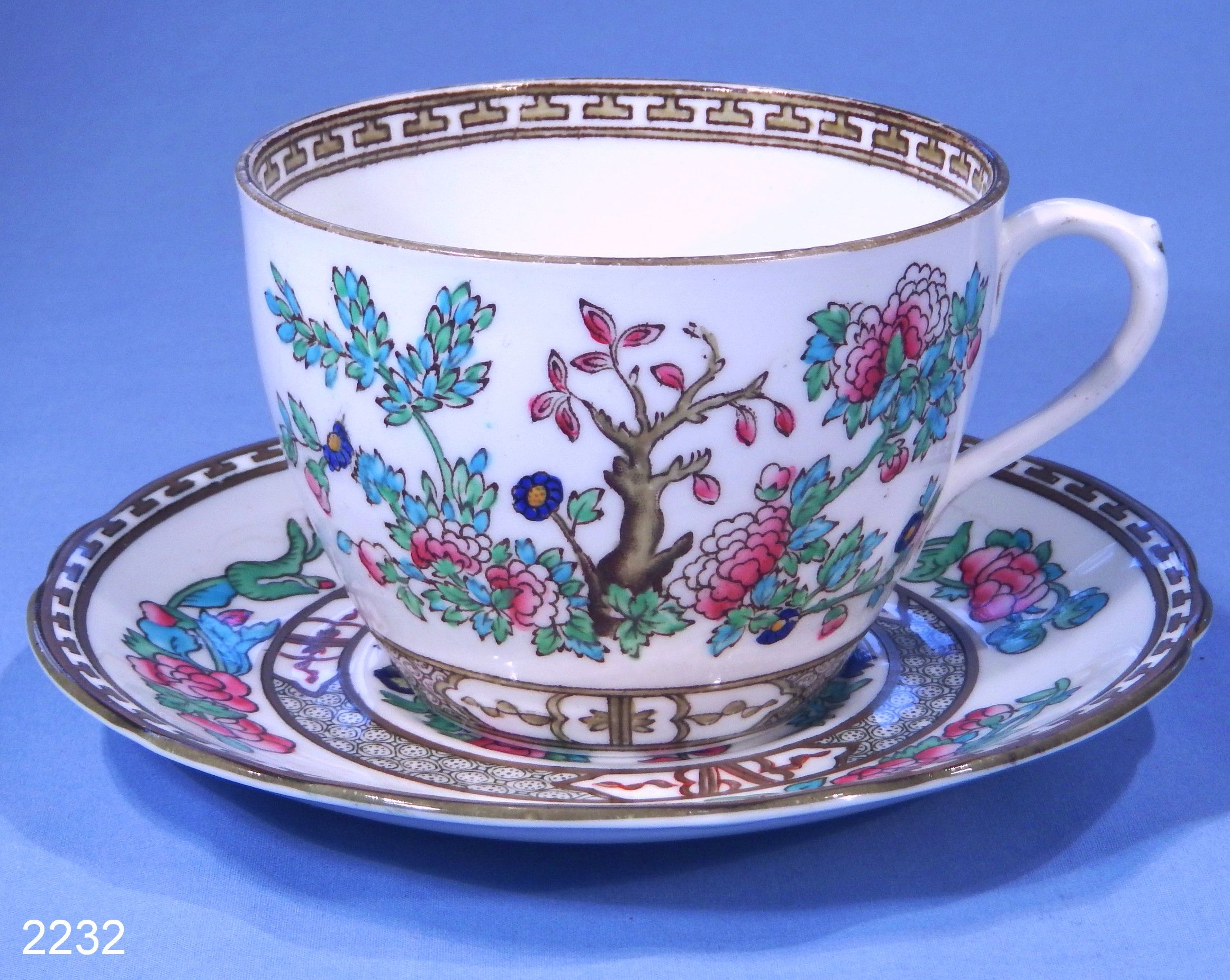Anchor China Indian Tree Vintage Bone China Tea Cup and