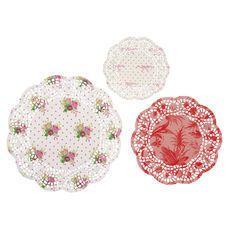 Lot de 24 napperons TeaTime pour une décoration vintage !   http://www.instemporel.com/s/3452_175951_lot-de-24-napperons-teatime