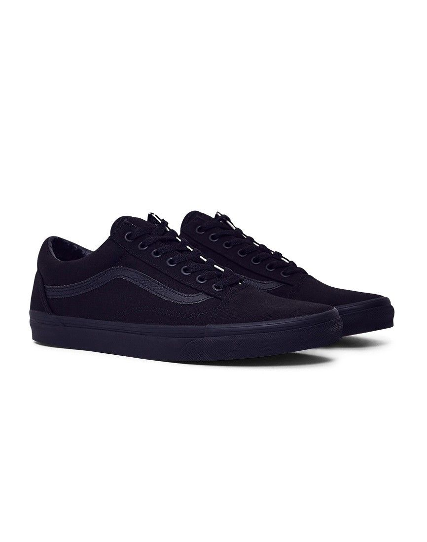 71ea48d904 The Idle Man now stock Vans Old Skool Trainers in black. Get yours online  now