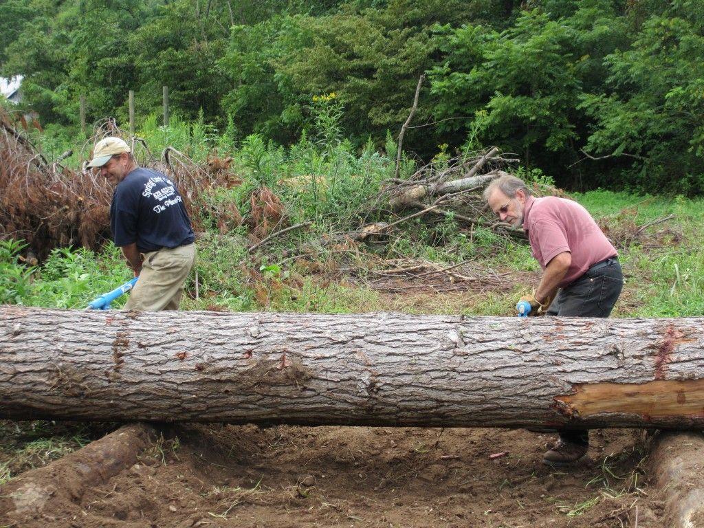 Portable Sawmill Rental >> building_sawmill_ramps3 | Лесопилка/Sawmill | Pinterest