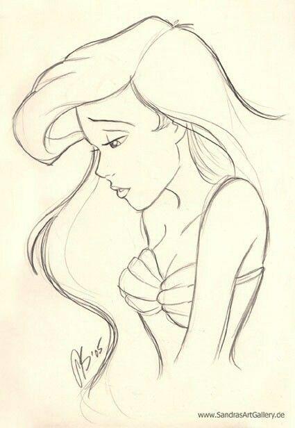 La Sirenetta Disney Disegni Principessa Disney Disegni