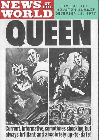 Queen Live in Houston December 11, 1977 DVD | Tommygun Video