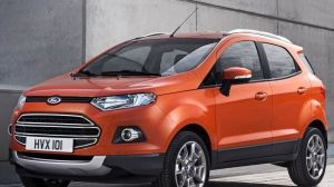 Preview Wallpaper Ford Ecosport Ford Auto Red 1366x768 Blu