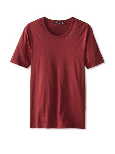 BLK DNM Men's Crew Neck T-Shirt 3 (Crimson)