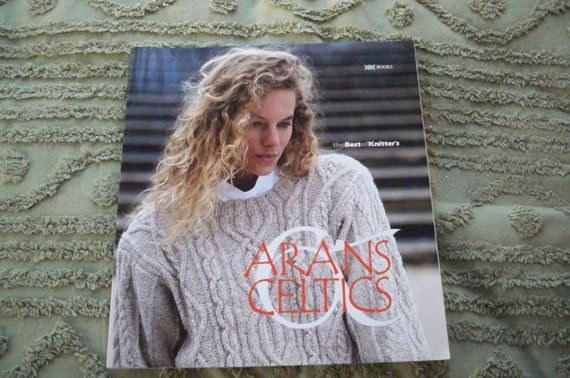 Knitting Supplies Arans Celtics Knitting Pattern Book Women's Men's Children's Sweaters #children'ssweaters