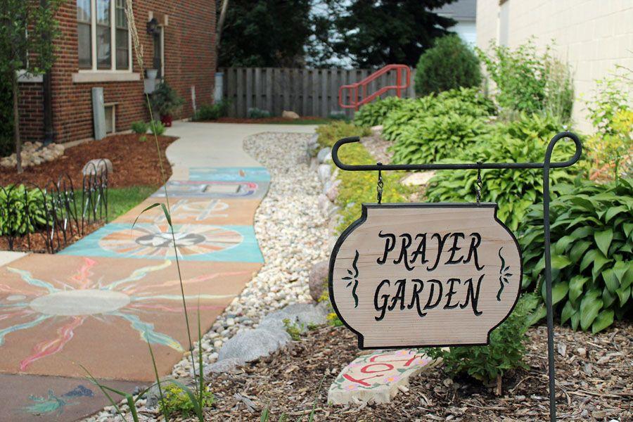 St Charles Prayer Garden Finding Joy Sharing Beauty