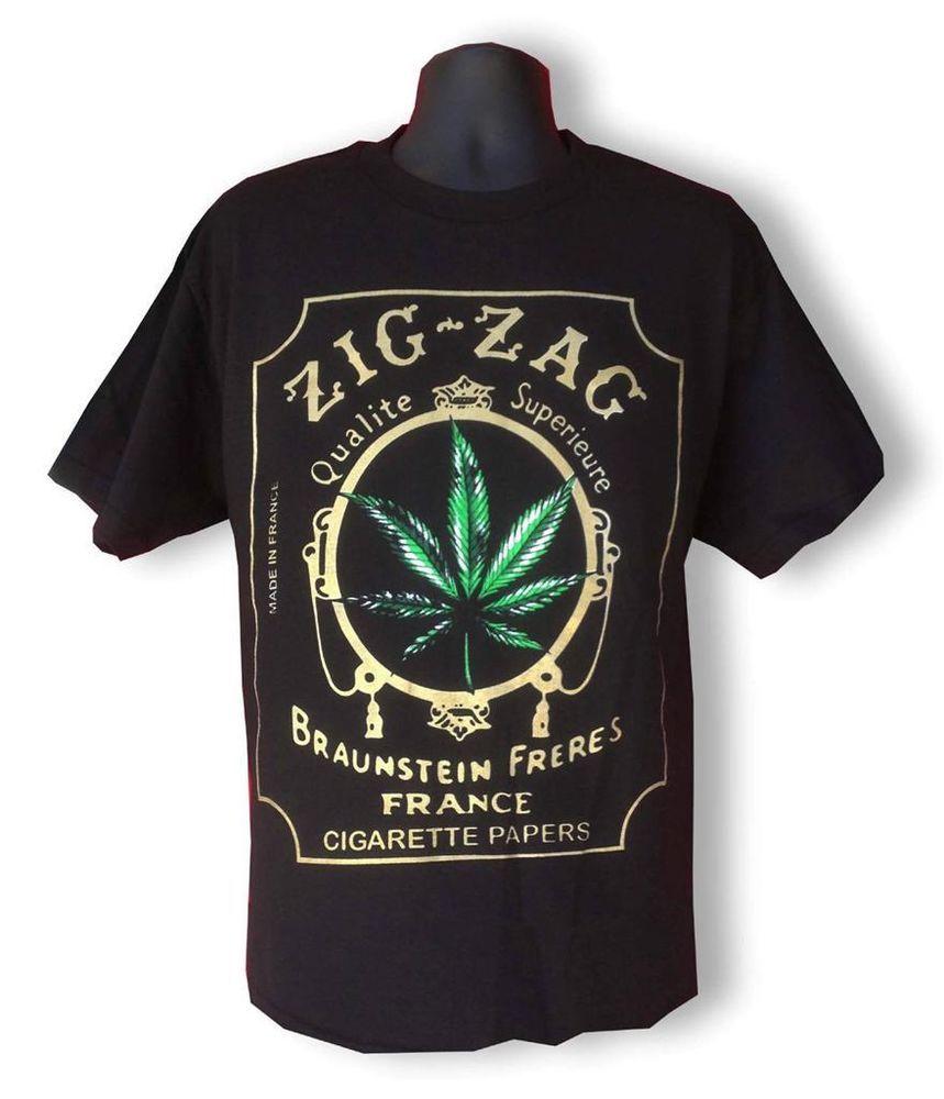 KLP The Multicolor In Weed We Trust Tank Top in Black