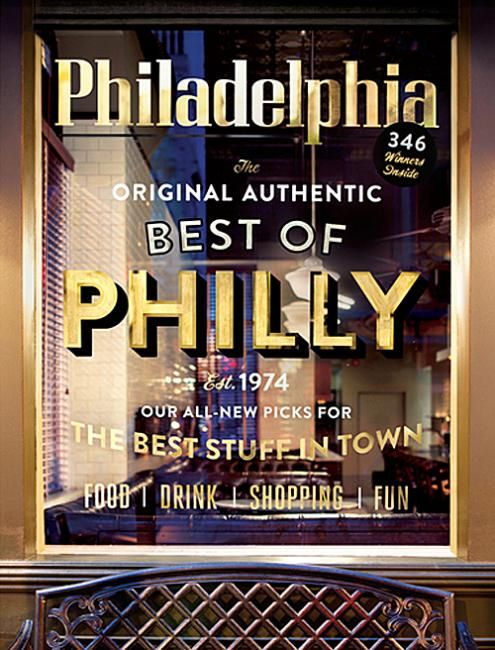 Sign Lettering for Philadelphia Magazine. // Gorgeous! (Accompanied by a great time lapse vid!)